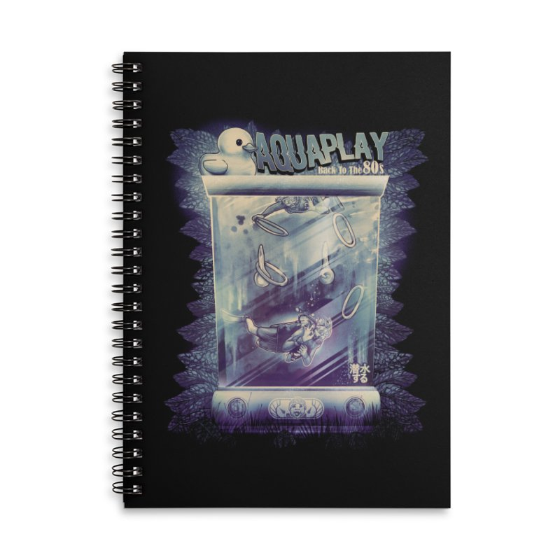 AQUAPLAY Accessories Lined Spiral Notebook by T.JEF