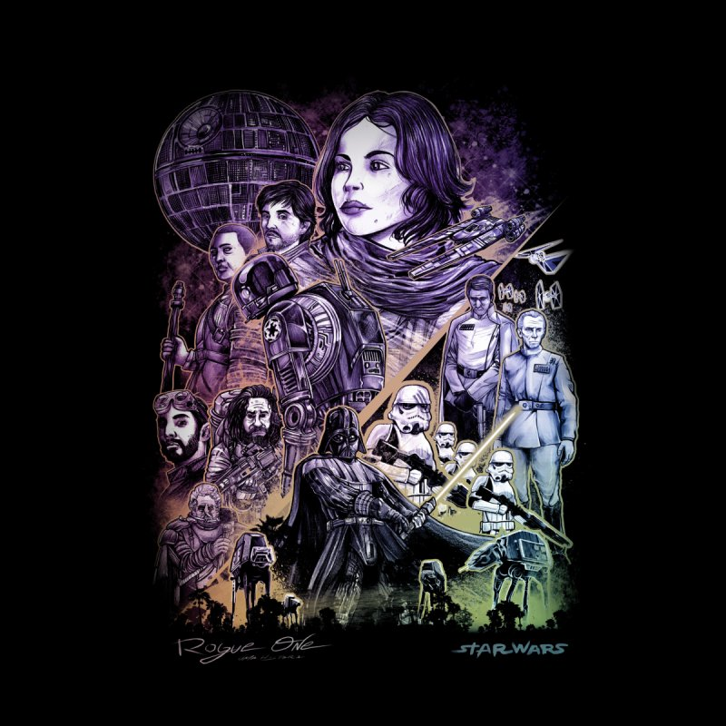 Rogue One Women's Longsleeve T-Shirt by T.JEF