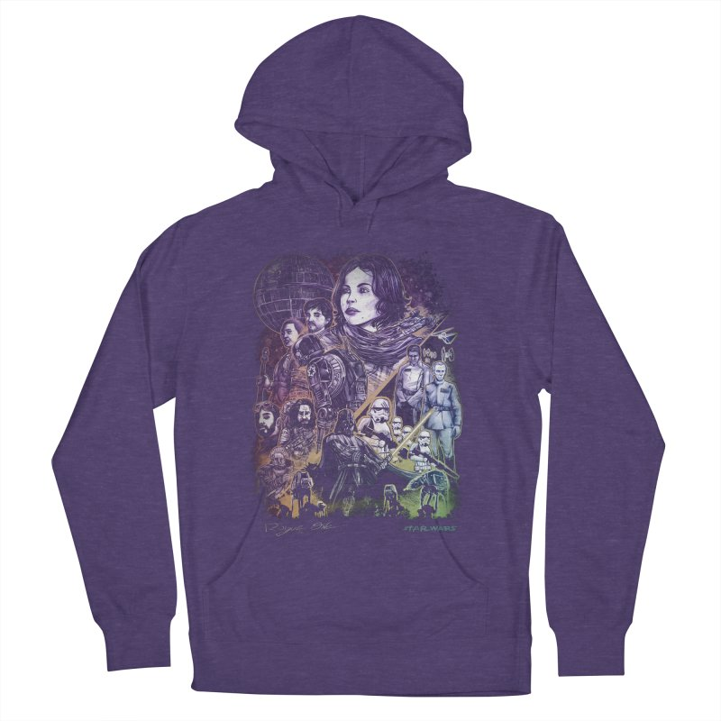 Rogue One Men's French Terry Pullover Hoody by T.JEF