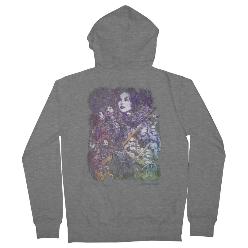 Rogue One Women's French Terry Zip-Up Hoody by T.JEF