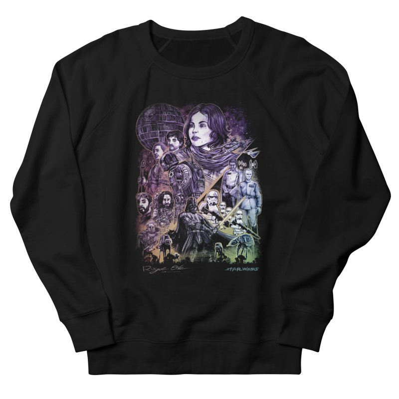 Rogue One Women's French Terry Sweatshirt by T.JEF