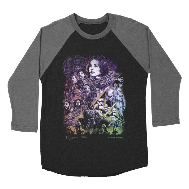 Rogue One Women's Baseball Triblend Longsleeve T-Shirt by T.JEF