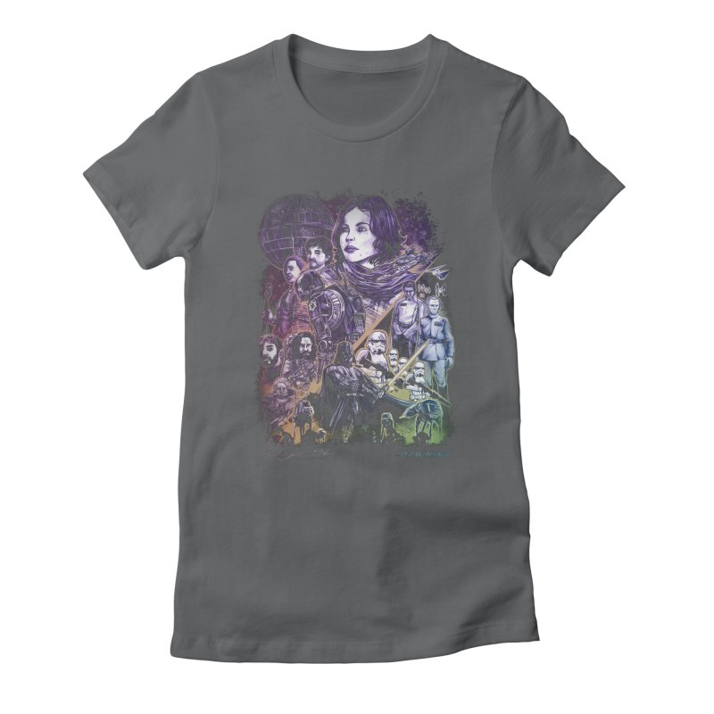 Rogue One Women's Fitted T-Shirt by T.JEF