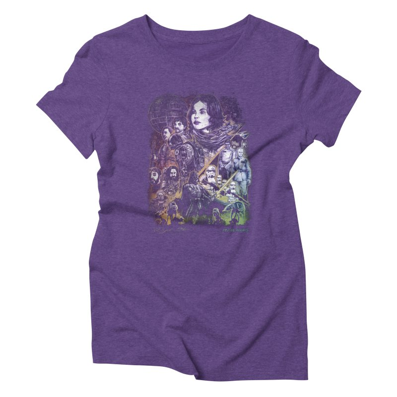 Rogue One Women's Triblend T-Shirt by T.JEF