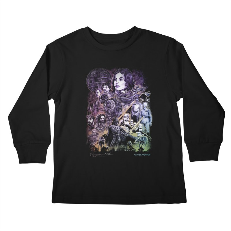 Rogue One Kids Longsleeve T-Shirt by T.JEF