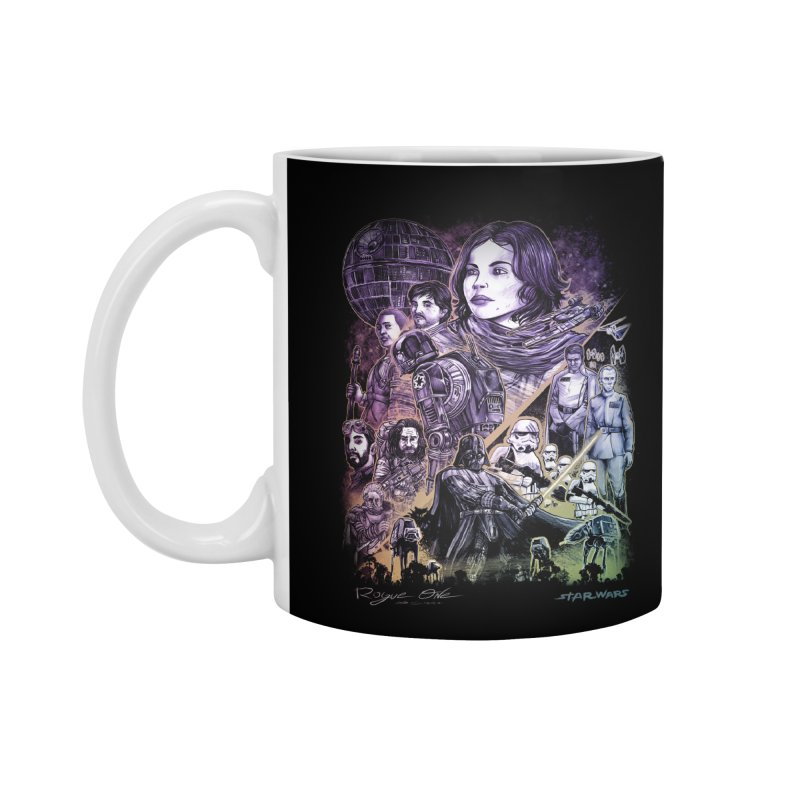 Rogue One Accessories Mug by T.JEF