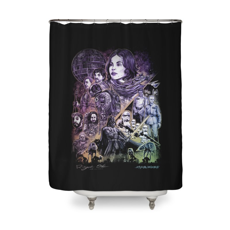 Rogue One Home Shower Curtain by T.JEF