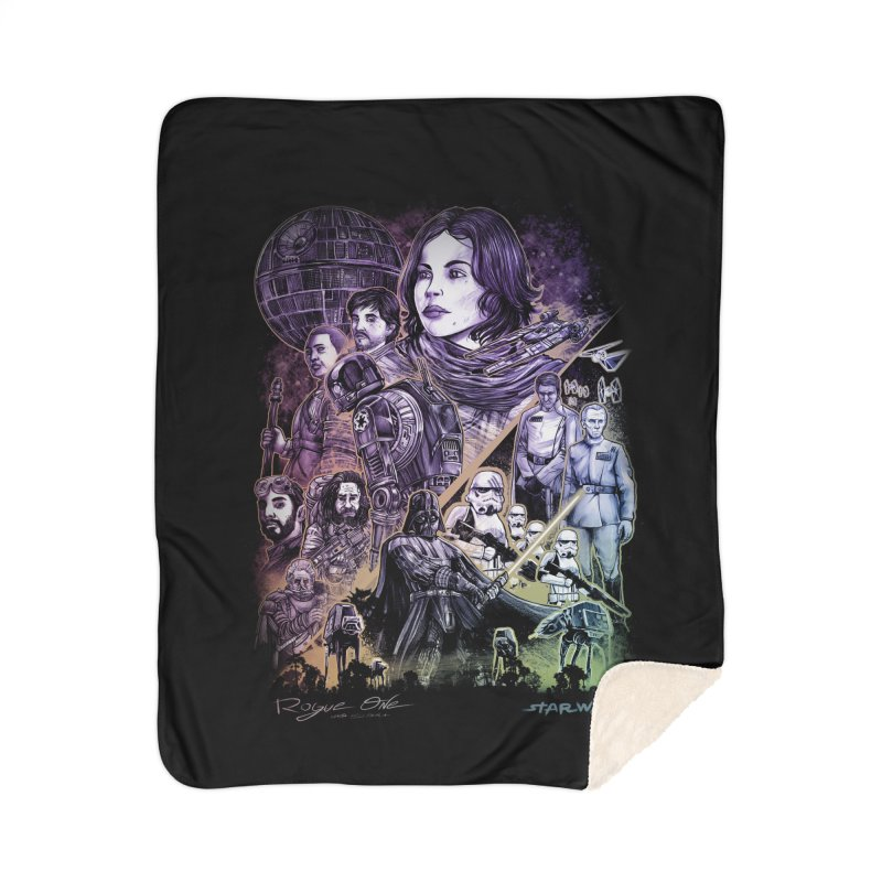 Rogue One Home Sherpa Blanket Blanket by T.JEF