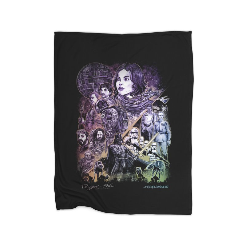 Rogue One Home Blanket by T.JEF