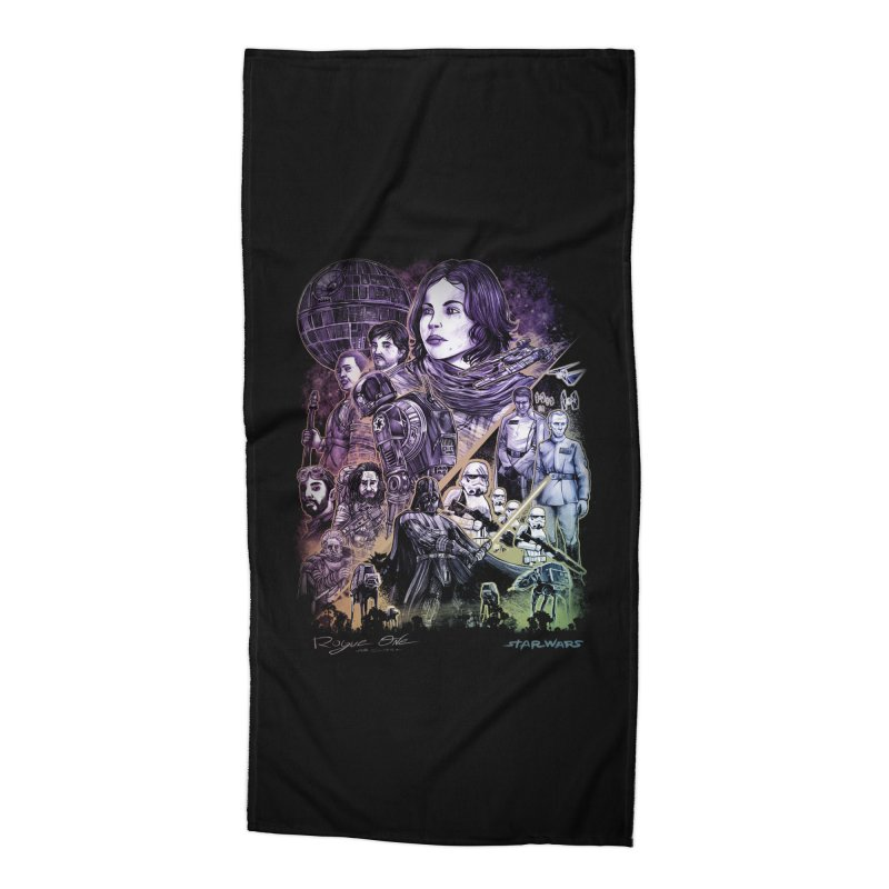 Rogue One Accessories Beach Towel by T.JEF