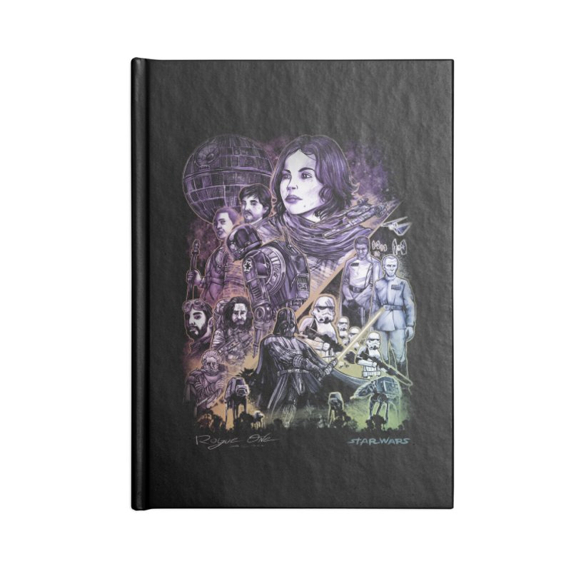 Rogue One Accessories Notebook by T.JEF