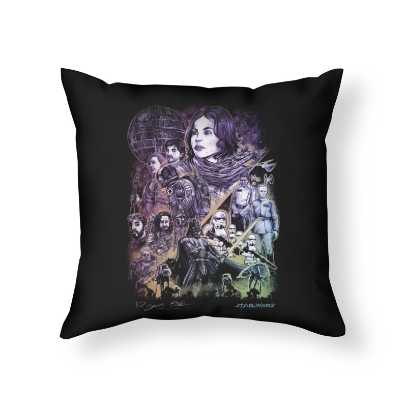 Rogue One Home Throw Pillow by T.JEF