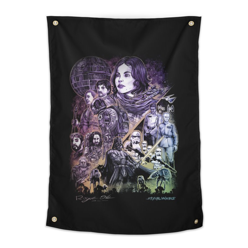 Rogue One Home Tapestry by T.JEF