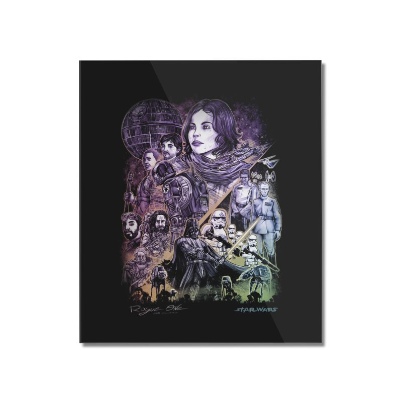 Rogue One Home Mounted Acrylic Print by T.JEF