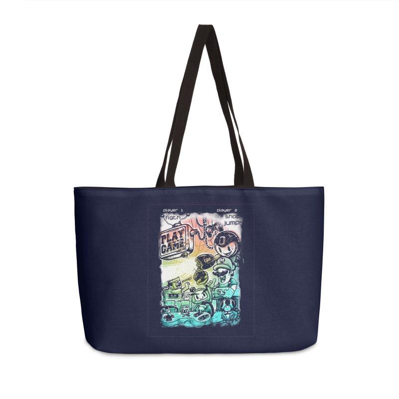 GAMEANDO Accessories Weekender Bag Bag by T.JEF