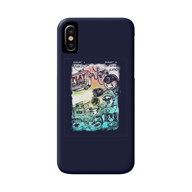 GAMEANDO Accessories Phone Case by T.JEF