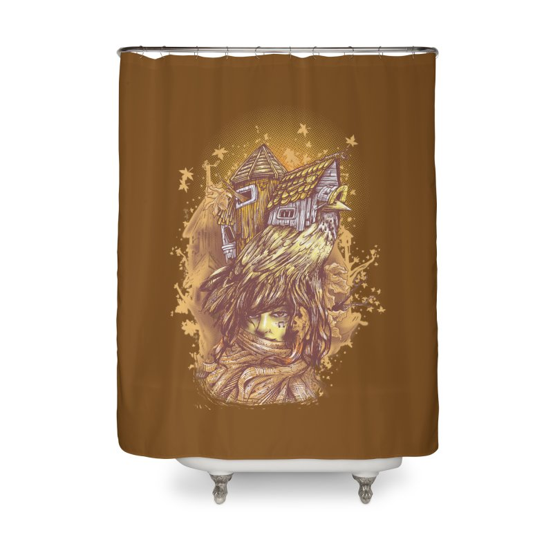 HOUSESONGS Home Shower Curtain by T.JEF