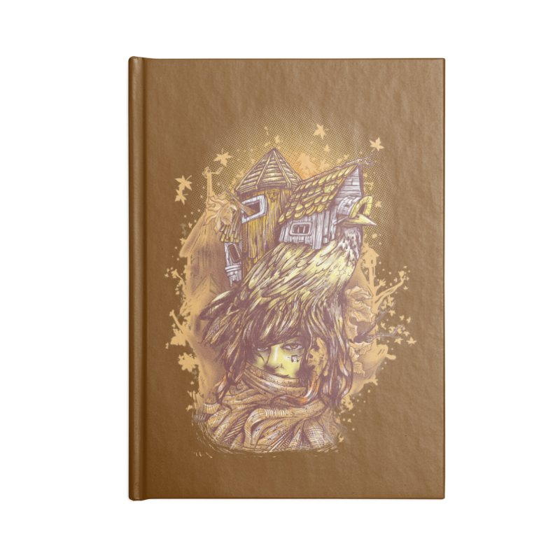 HOUSESONGS Accessories Blank Journal Notebook by T.JEF