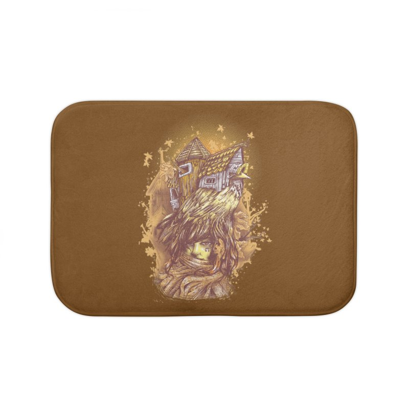 HOUSESONGS Home Bath Mat by T.JEF