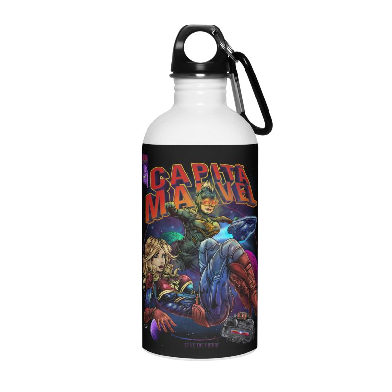 CAPITAIN MARVEL Accessories Water Bottle by T.JEF