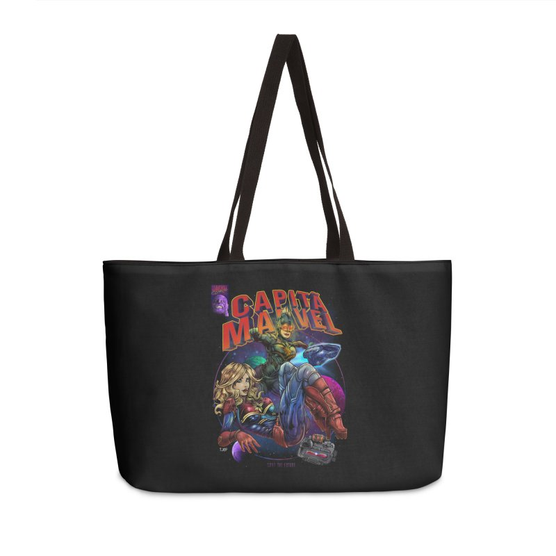 CAPITAIN MARVEL Accessories Bag by T.JEF