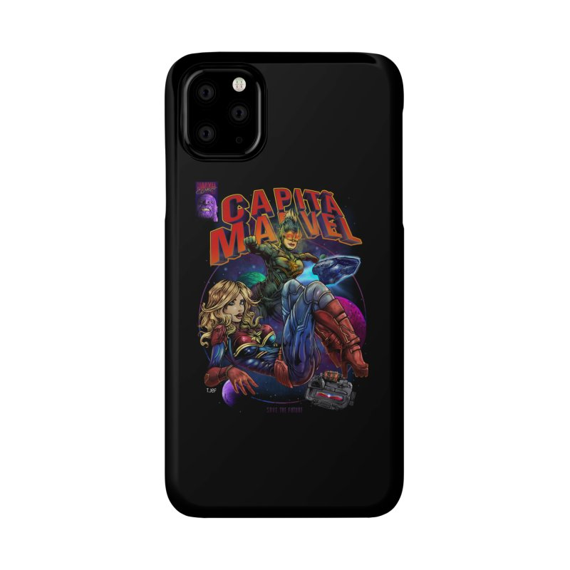 CAPITAIN MARVEL Accessories Phone Case by T.JEF