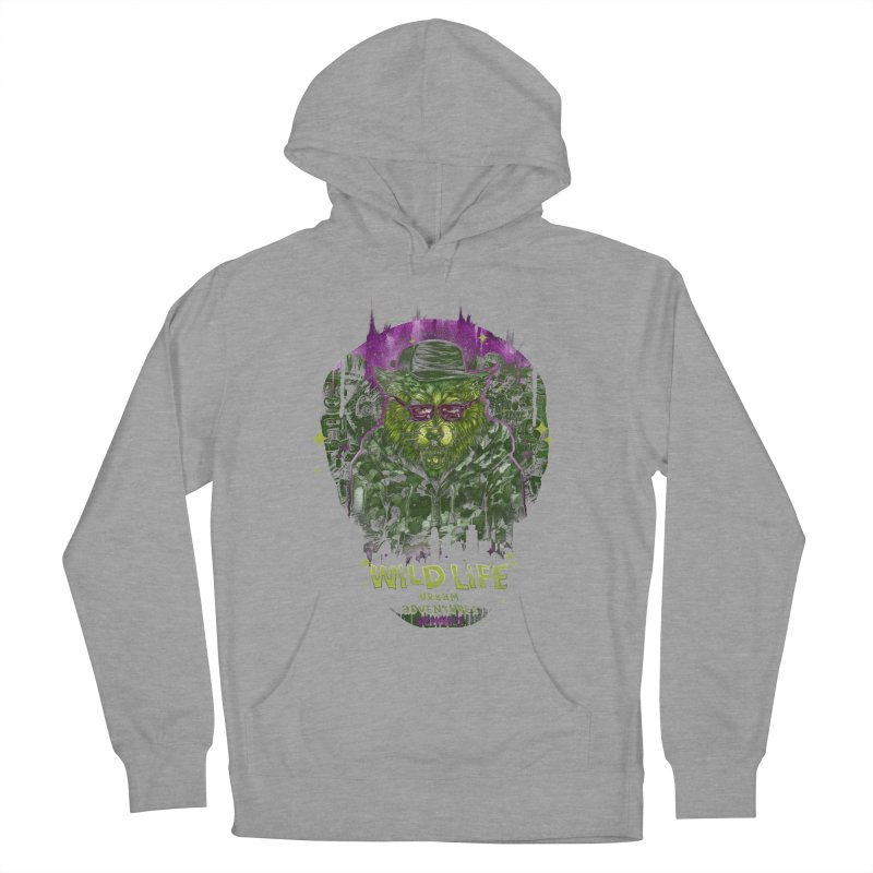 WILD LIFE  Women's Pullover Hoody by T.JEF