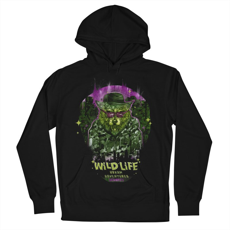 WILD LIFE  Women's French Terry Pullover Hoody by T.JEF