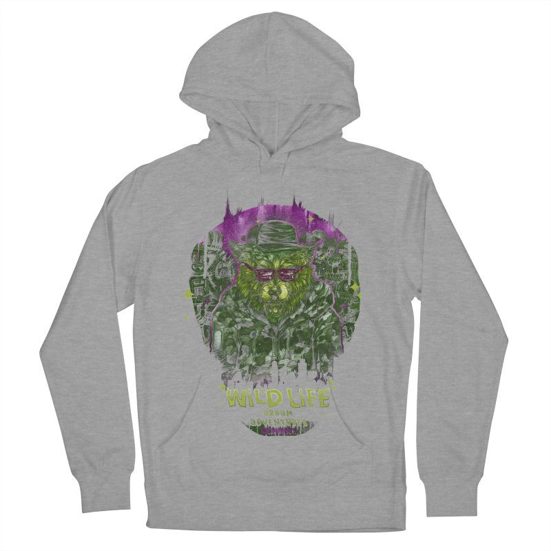 WILD LIFE  Men's Pullover Hoody by T.JEF