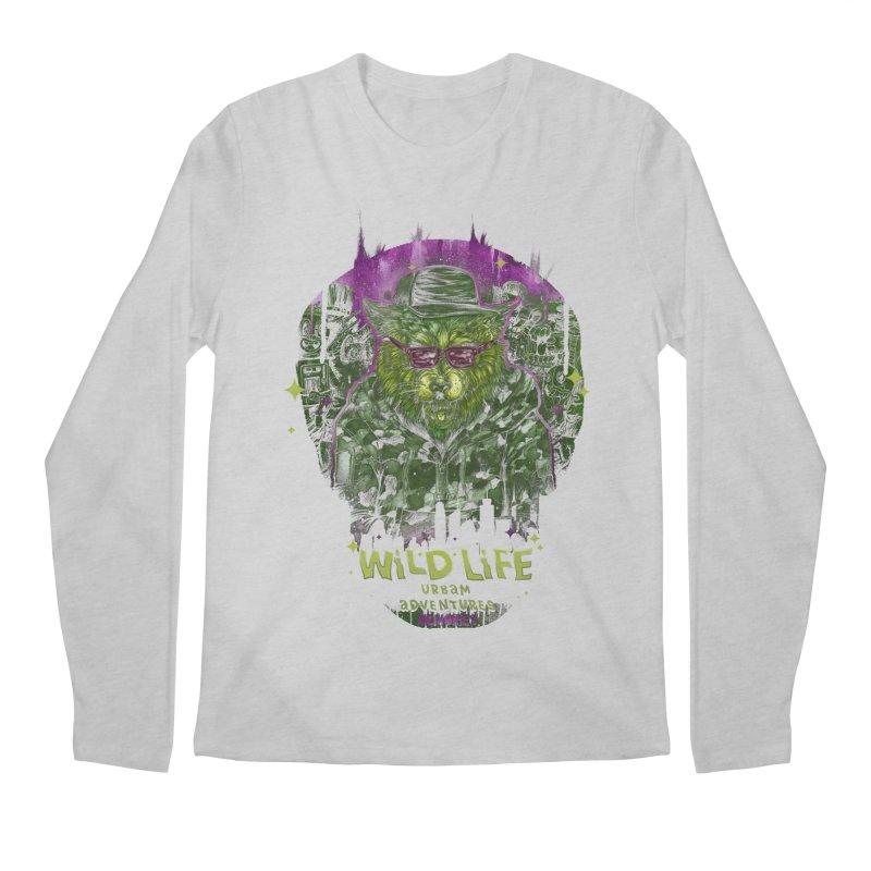 WILD LIFE  Men's Longsleeve T-Shirt by T.JEF