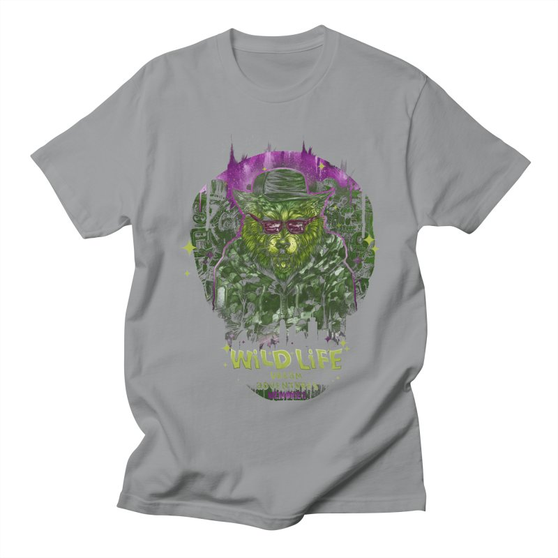 WILD LIFE  Men's T-Shirt by T.JEF