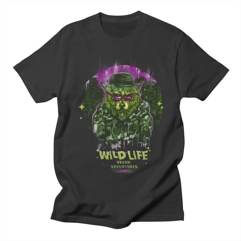 WILD LIFE  Men's Regular T-Shirt by T.JEF