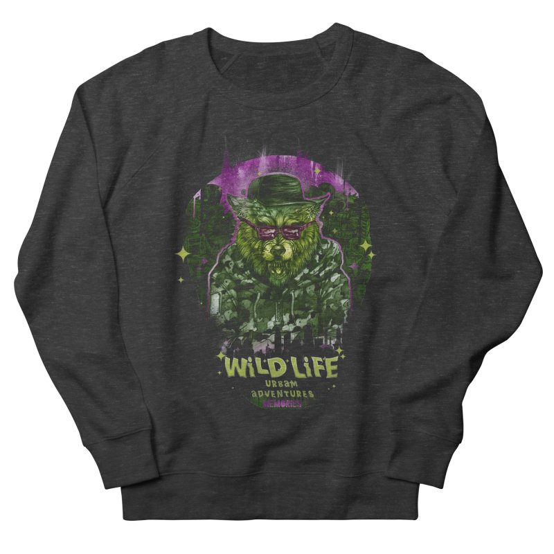 WILD LIFE  Women's French Terry Sweatshirt by T.JEF