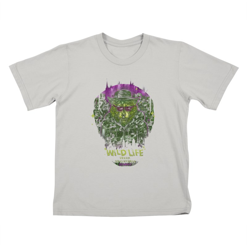 WILD LIFE  Kids T-Shirt by T.JEF