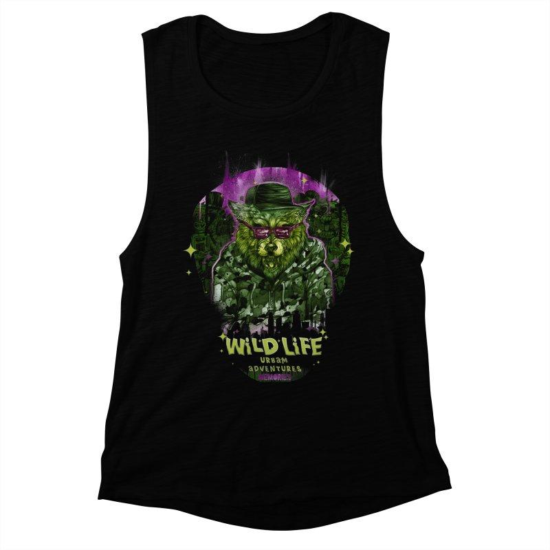 WILD LIFE  Women's Muscle Tank by T.JEF