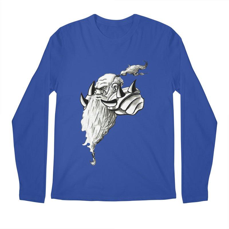 Dwarve Chieftan Men's Longsleeve T-Shirt by tjjudgeillustration's Artist Shop