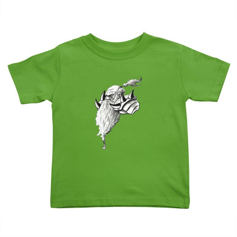 Dwarve Chieftan Kids Toddler T-Shirt by tjjudgeillustration's Artist Shop
