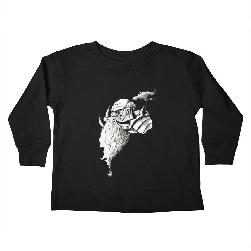 Dwarve Chieftan Kids Toddler Longsleeve T-Shirt by tjjudgeillustration's Artist Shop