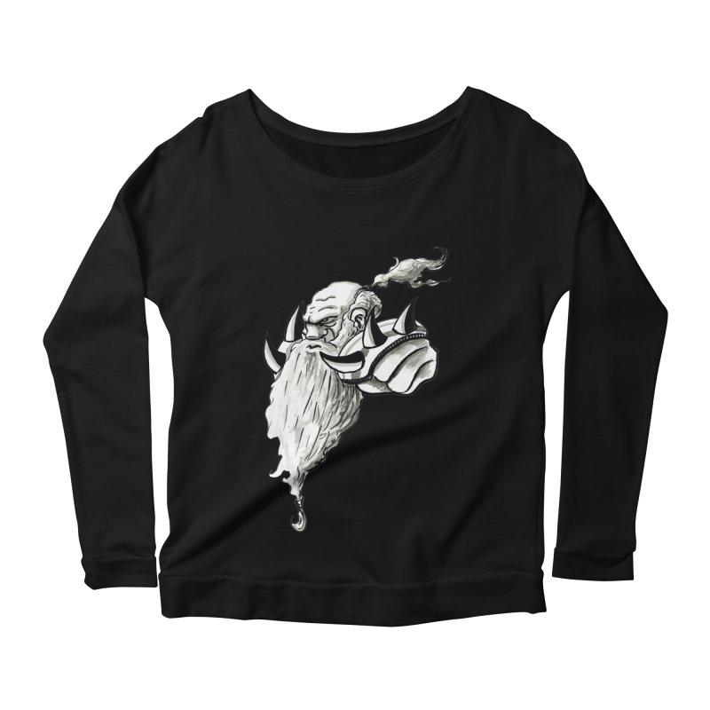 Dwarve Chieftan Women's Scoop Neck Longsleeve T-Shirt by tjjudgeillustration's Artist Shop