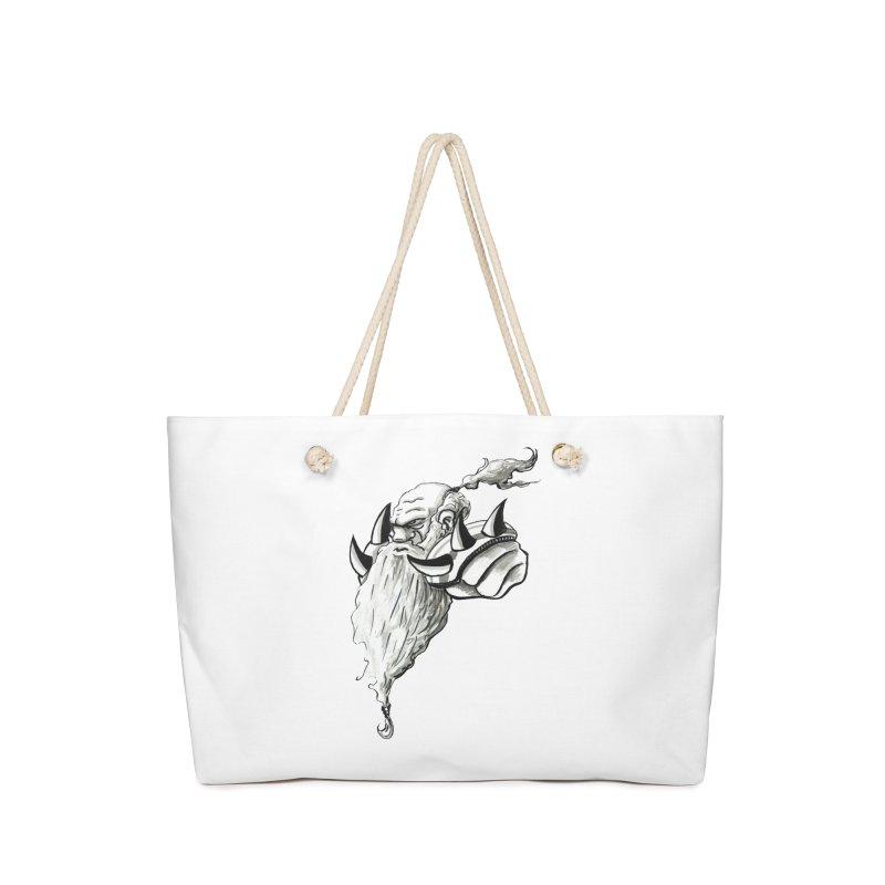 Dwarve Chieftan Accessories Bag by tjjudgeillustration's Artist Shop