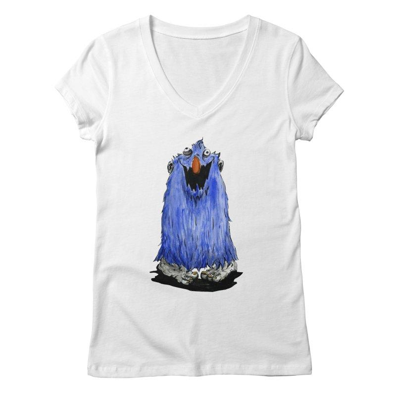 Giggles Women's V-Neck by tjjudgeillustration's Artist Shop