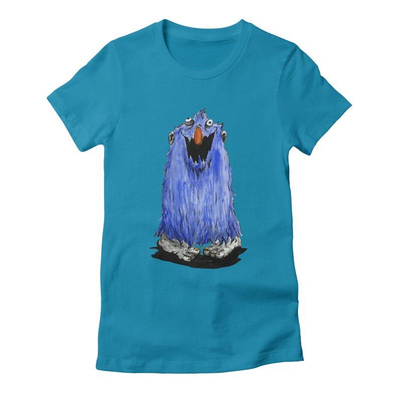 Giggles Women's Fitted T-Shirt by tjjudgeillustration's Artist Shop