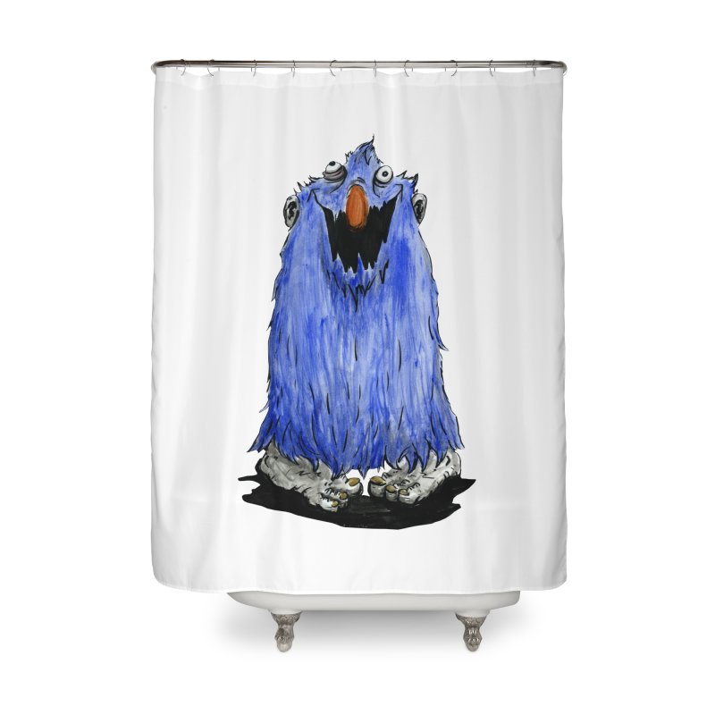 Giggles Home Shower Curtain by tjjudgeillustration's Artist Shop