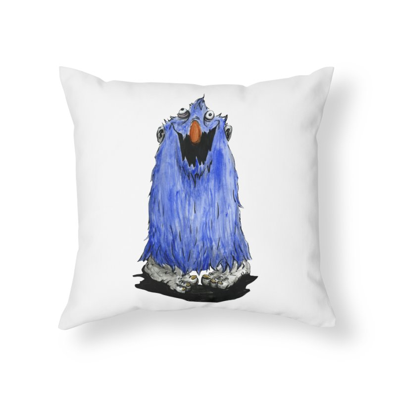 Giggles Home Throw Pillow by tjjudgeillustration's Artist Shop