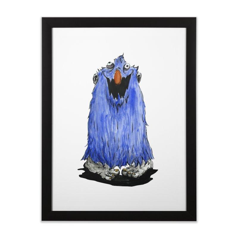 Giggles Home Framed Fine Art Print by tjjudgeillustration's Artist Shop