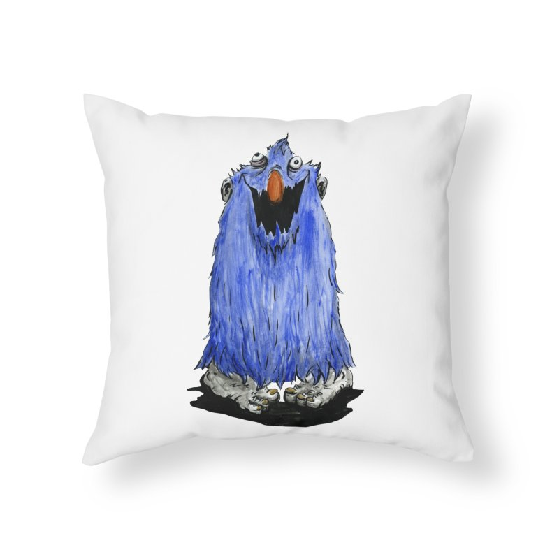 Giggles Home Throw Pillow by tjjudgeillustration's Artist Shop