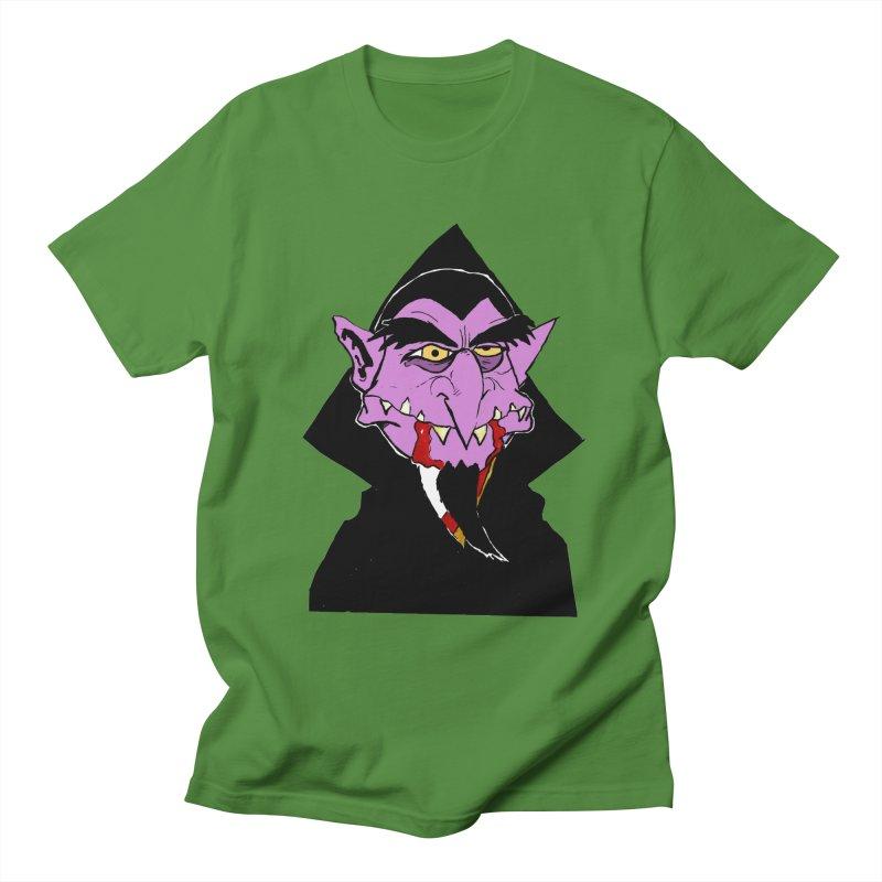 Count Von Count Men's T-Shirt by tjjudgeillustration's Artist Shop