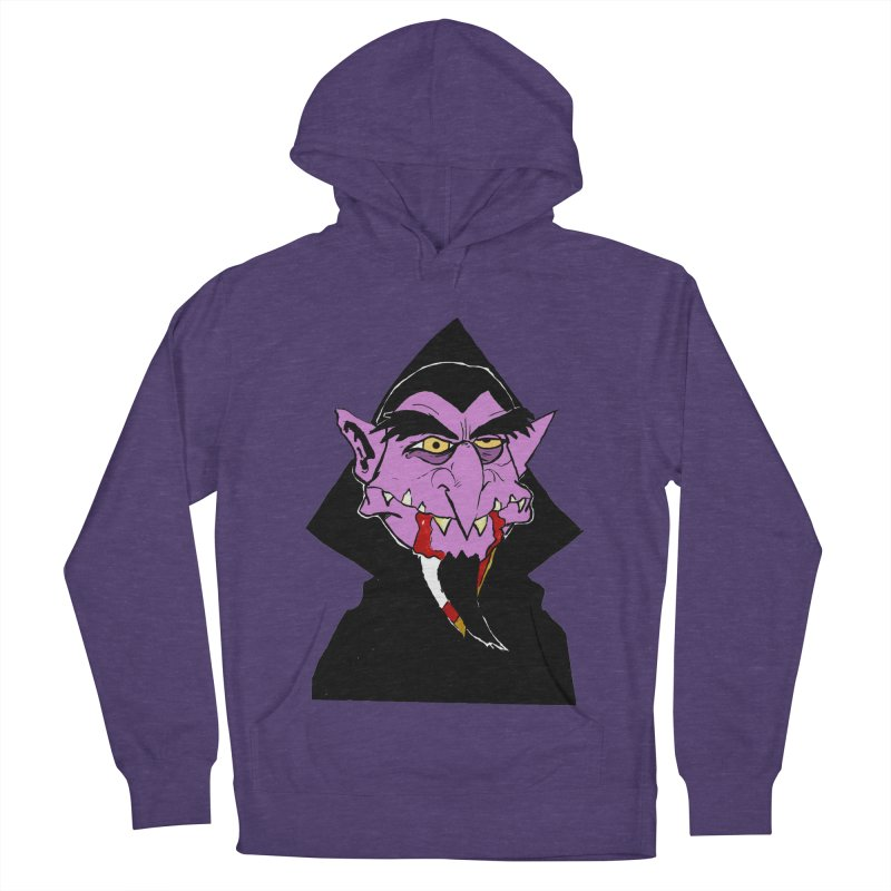 Count Von Count Men's French Terry Pullover Hoody by tjjudgeillustration's Artist Shop