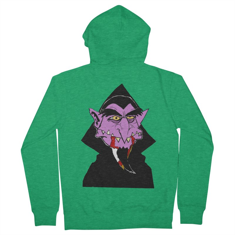 Count Von Count Women's Zip-Up Hoody by tjjudgeillustration's Artist Shop