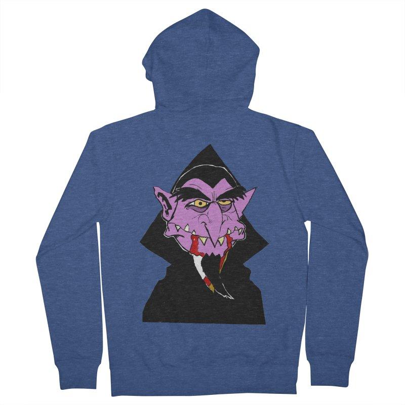 Count Von Count Men's Zip-Up Hoody by tjjudgeillustration's Artist Shop
